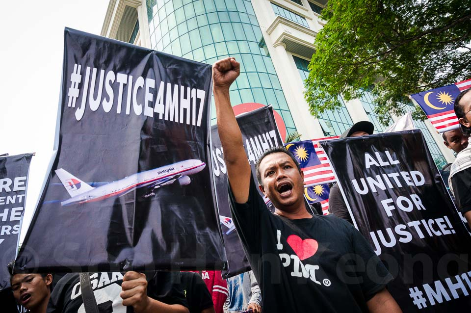 Justice for Malaysia Flight #MH17 Rally ( #Justice4MH17 ) @ Kuala Lumpur, Malaysia