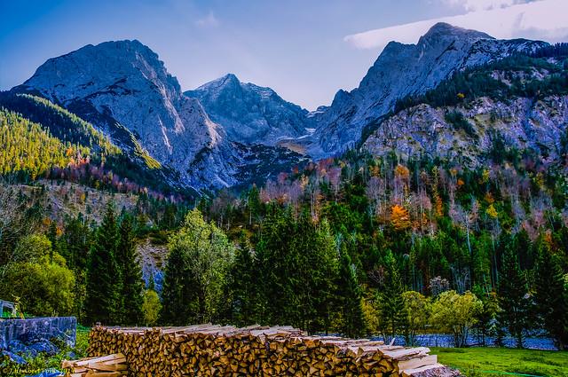 Herbstbeginn im Rießbachtal Tirol