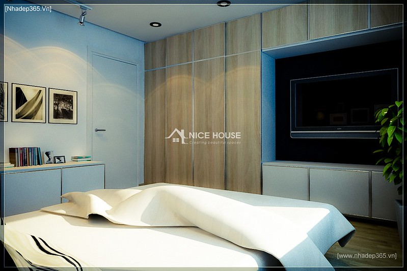 Thiết kế nội thất chung cư M5 - A Chiến_5