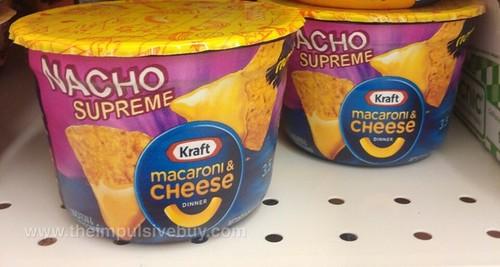 Kraft Nacho Supreme Macaroni & Cheese Cup