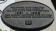 Photo of Black plaque number 31348