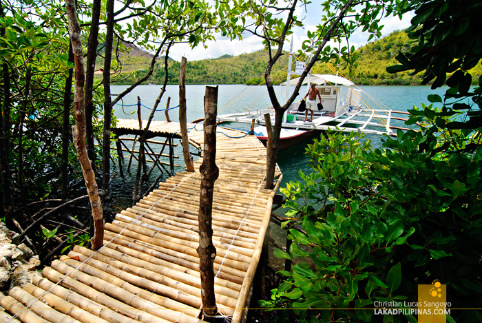 Bamboo Wharf at Puerto Del Sol Resort in Palawan