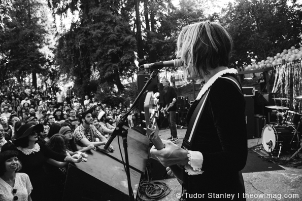 The Muffs @ Burger Boogaloo 2014, Sunday