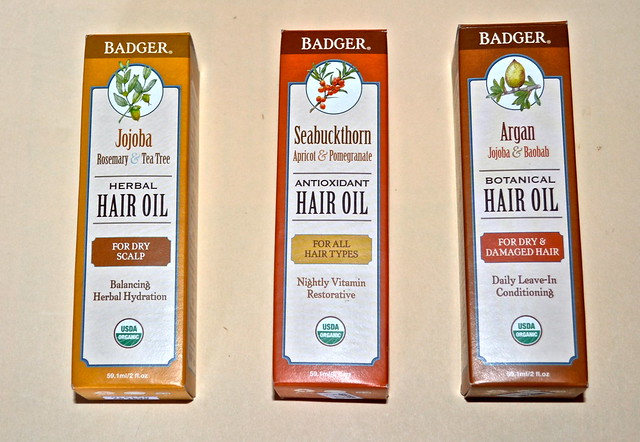 Badger Organic Hair treatments