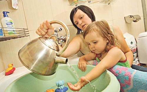 Гаряча вода — тільки до 6 вересня