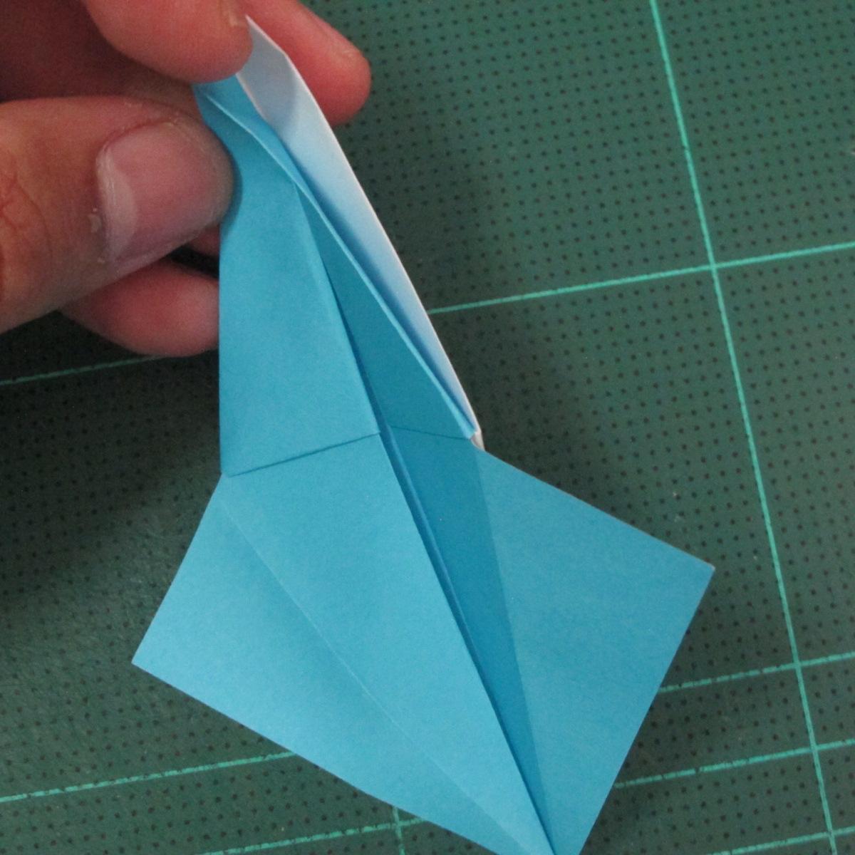 วิธีพับกระดาษเป็นถาดใส่ขนมรูปดาวแปดแฉก (Origami Eight Point Star Candy Tray) 014