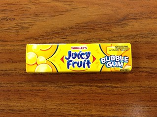 Juicy Fruit Bubble Gum