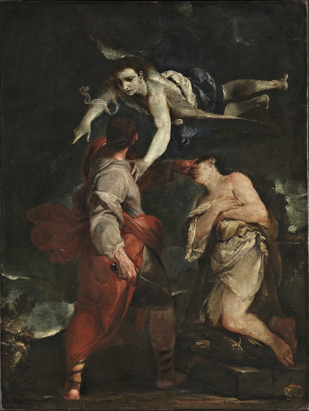 Giuseppe Maria Crespi - The Sacrifice of Abraham (c.1690)
