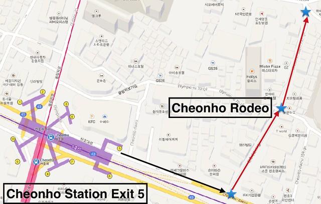 Cheonho Directions