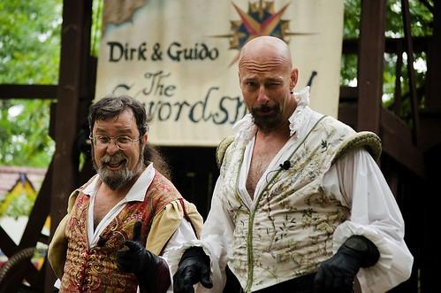 Dirk & Guido, The Swordsmen