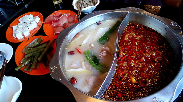 Hot pot lunch 劉一手火鍋
