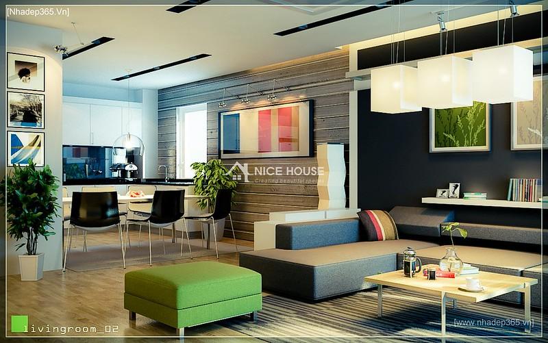 Thiết kế nội thất chung cư M5 - A Chiến_8