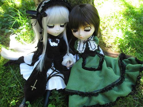 Peaceful day ~ Suigintou & Suiseiseki