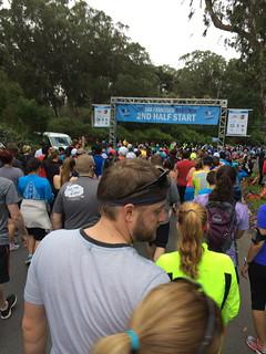 Starting point for SF 2nd half marathon