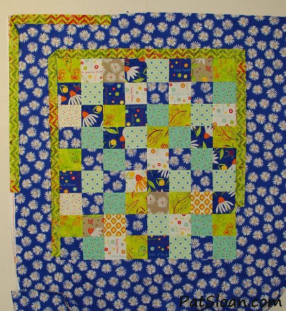 pat sloan scrap square quilt 7
