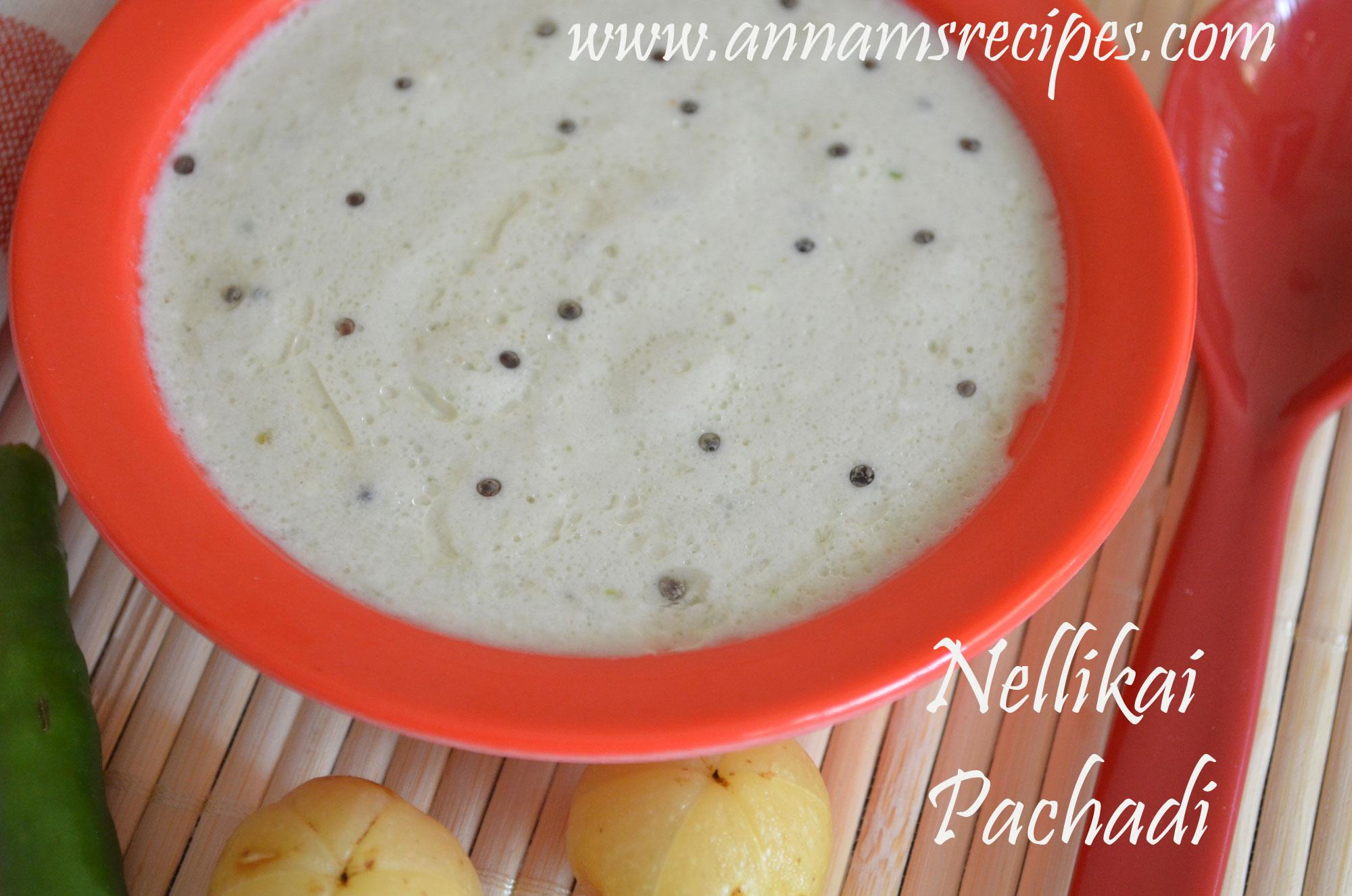 Nellikai Thayir Pachadi