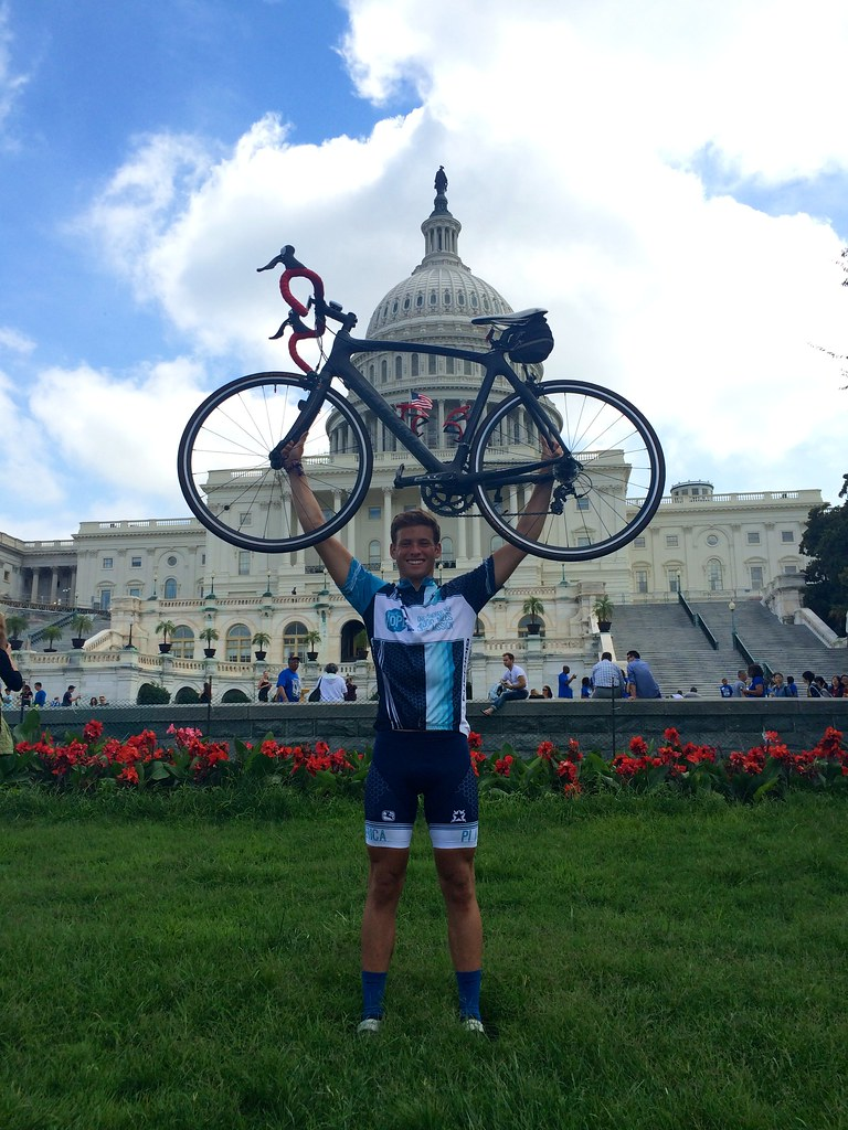 Grayson McFarlin Rides Across America