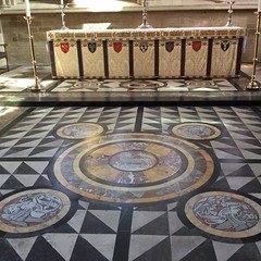 Tiles & Marble Floors & Walls in Churches and Cathedrals.