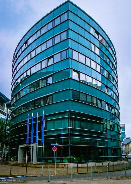 D sseldorf medienhafen zollhof haus der architekten 1 flickr photo sharing - Architekten in dusseldorf ...