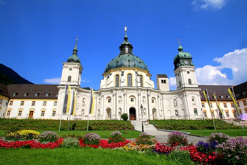The abbey church of Ettal, Bavaria, Germany