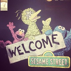 And we continue on to Sesame Street - awesome