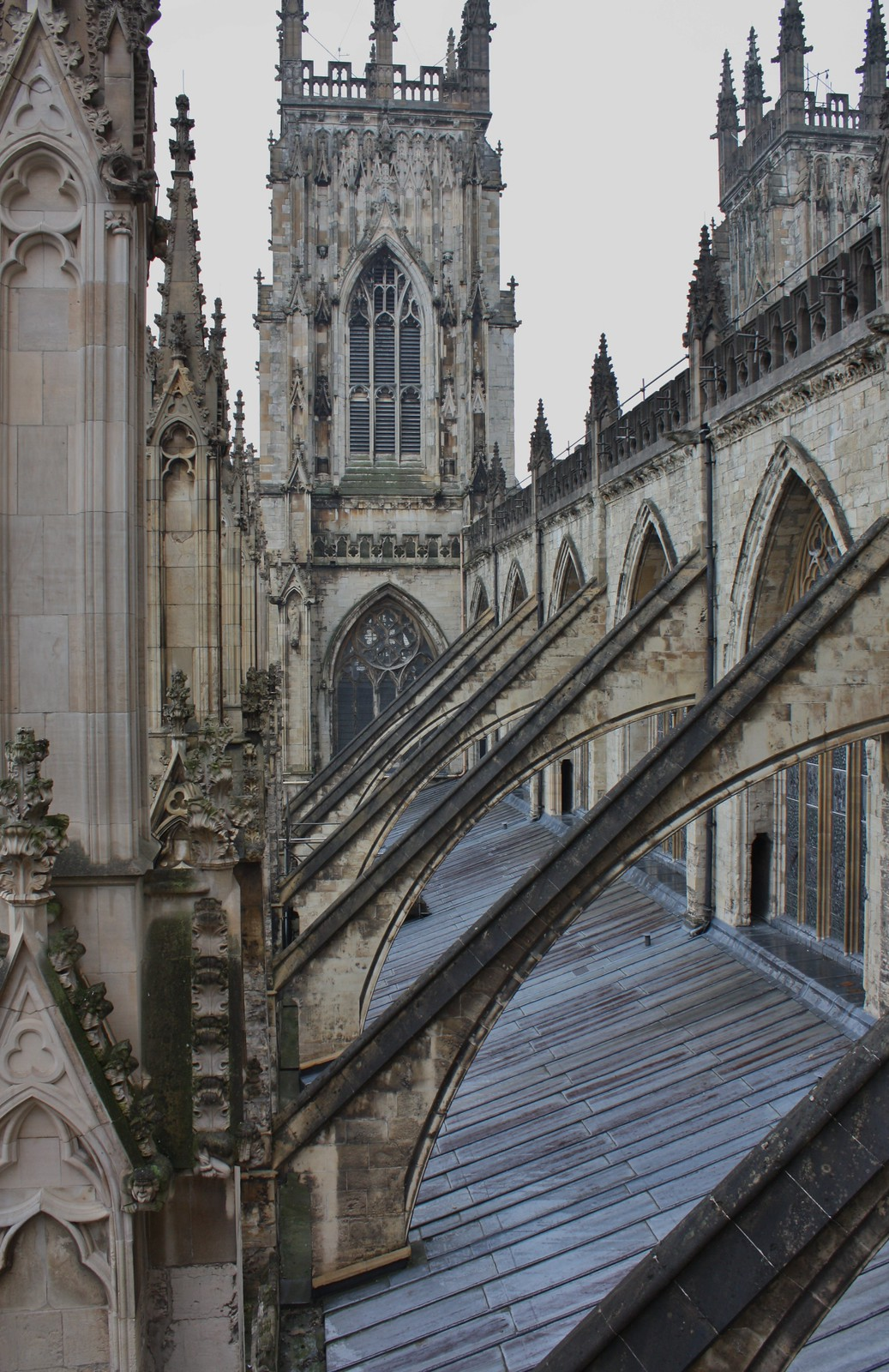 York flying buttresses