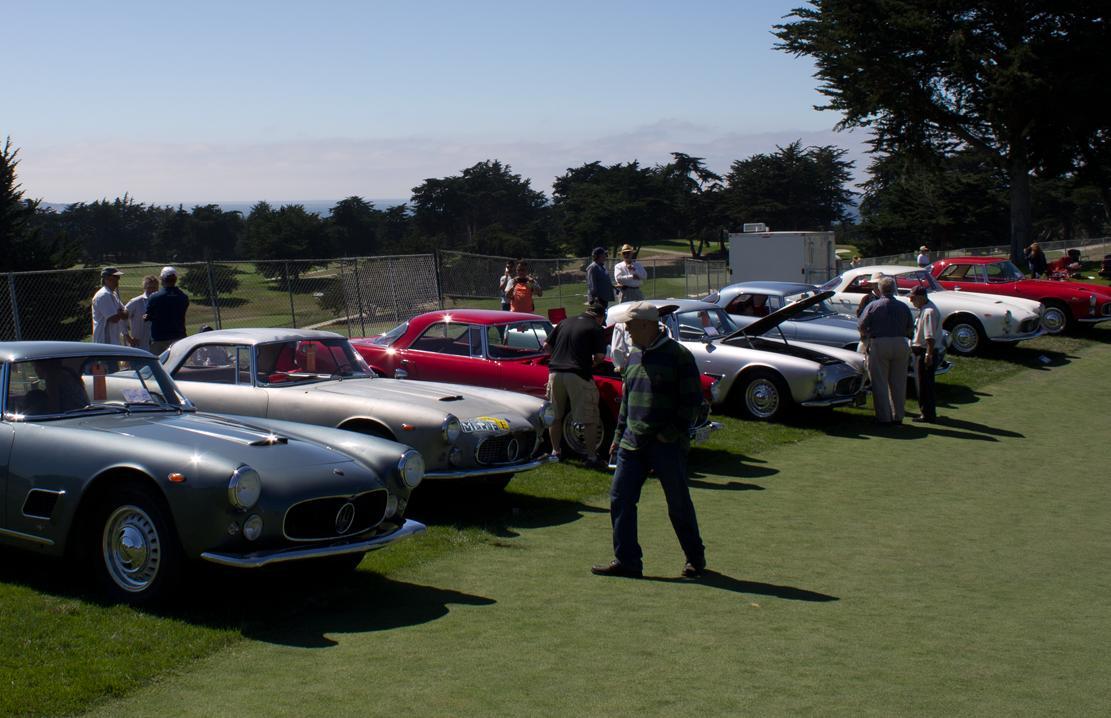 Italian Concours Maseratis!