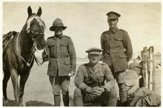"""My departure from 1st Battalion"", Egypt 1916"