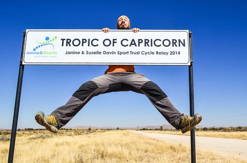 Tropique du Capricorne à 23' 26 s (Namibie, D1265)
