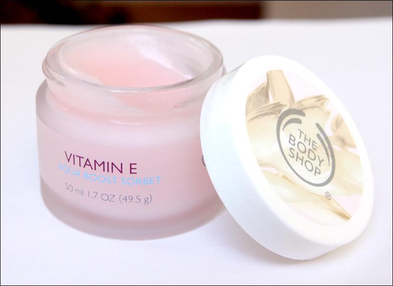 TBS vitamin E aqua boost sorbet1
