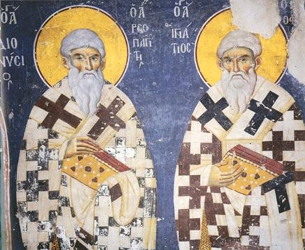 Sfintii Dionisie Areopagitul si Ignatie Teoforul