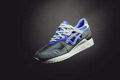 """ASICS x Sneaker Freaker GLlll """"Alvin Purple"""""""