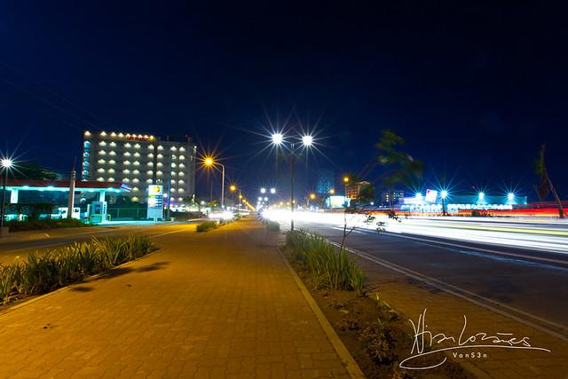VanS3n-08092014- Long Exposure - Diversion Road, Iloilo City -0006