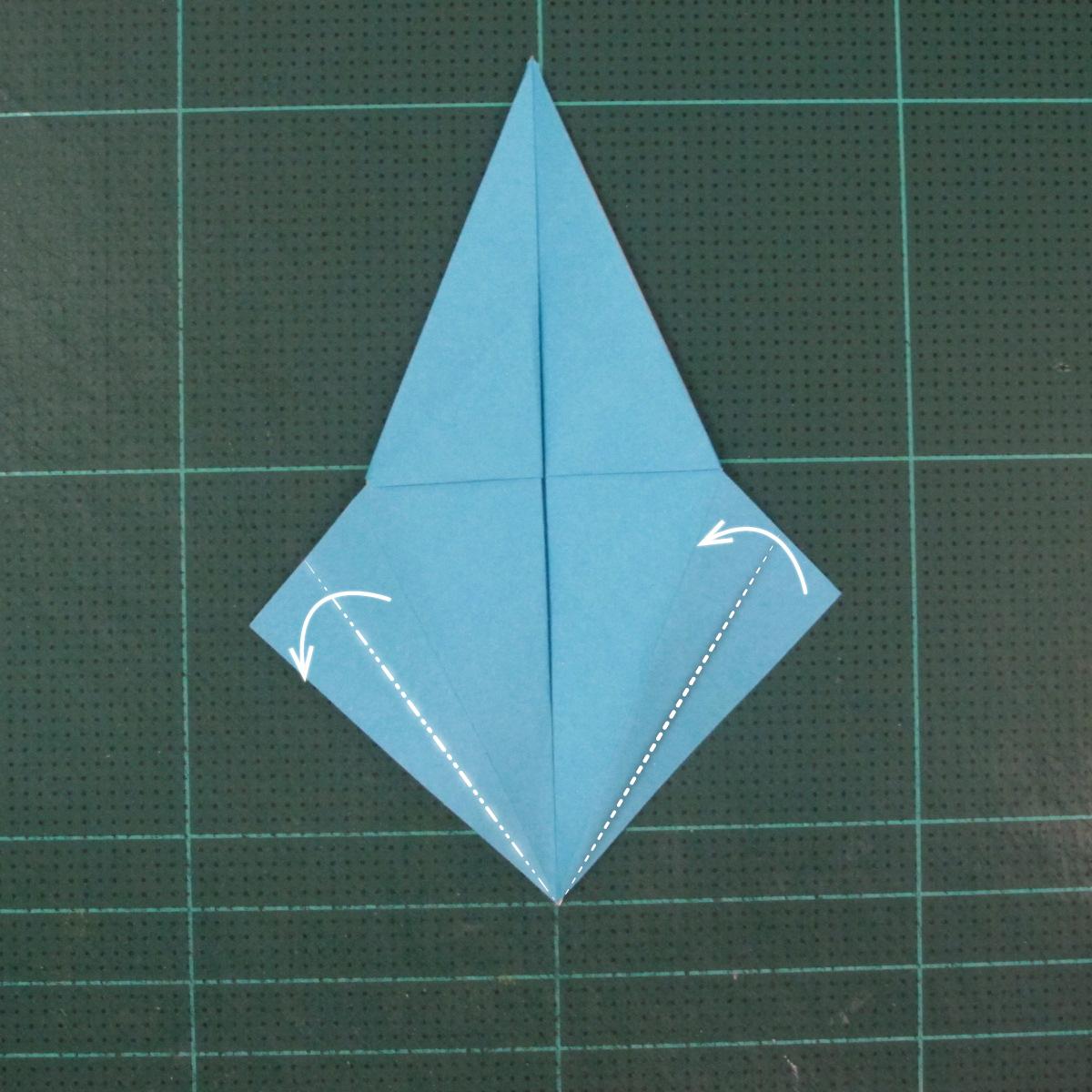วิธีพับกระดาษเป็นถาดใส่ขนมรูปดาวแปดแฉก (Origami Eight Point Star Candy Tray) 015