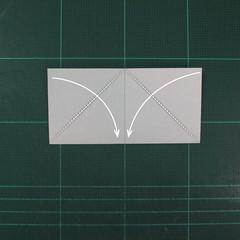 วิธีพับกระดาษเป็นถาดใส่ขนมรูปดาวแปดแฉก (Origami Eight Point Star Candy Tray) 003