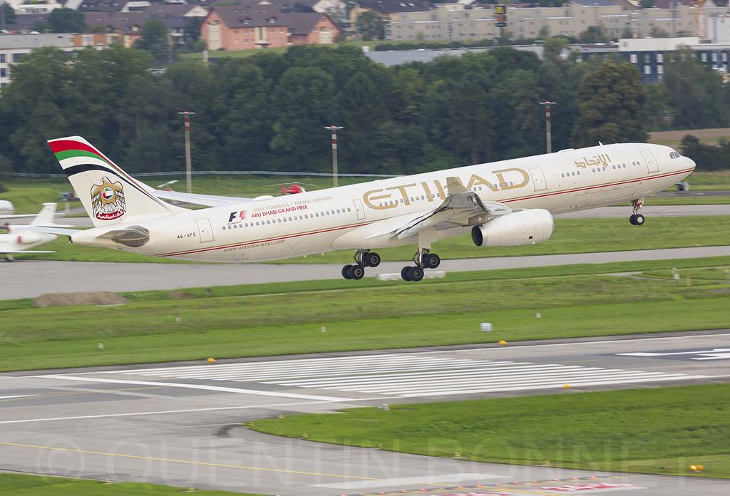Etihad Airways Airbus A330-343 A6-AFE