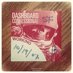 Dashboard Confessional - 10/19/07 #tbt #throwback #throwbackthursday #musicsumo