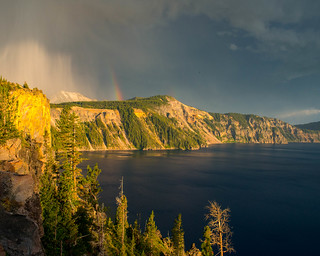 Cliff of Storms, Crater Lake, Oregon, 2014