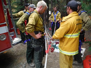Firefighters Train for Rescue in Rugged Terrain of Klamath National Forest. Photo has Creative Commons license for your use. Click to learn more...