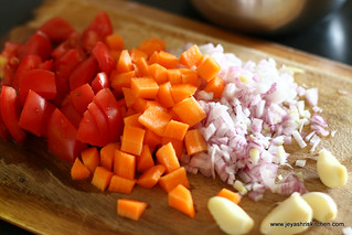 onion+tomato+carrot+garlic