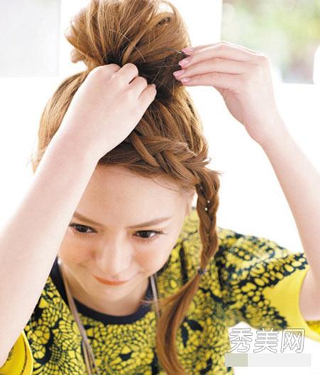 Hướng dẫn các cách tết tóc ĐẸP mà đơn giản 12