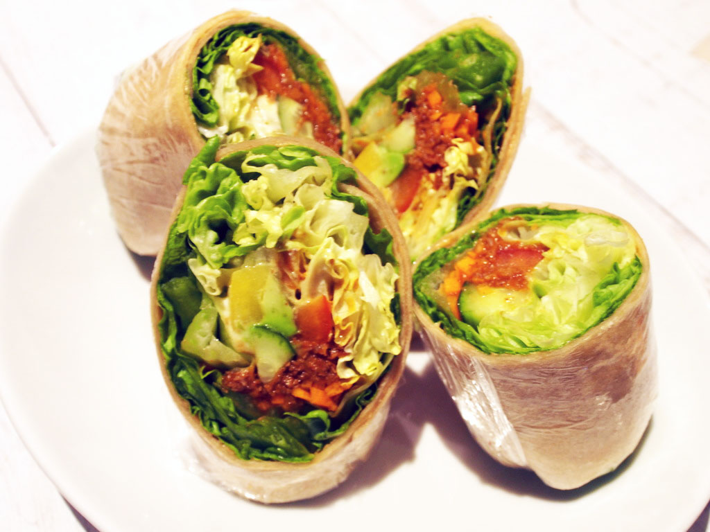 Vegan Tortilla Roll