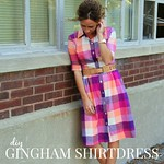 gingham sundress refashion