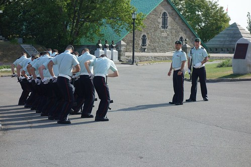 Solidiers at La Citadelle de Québec