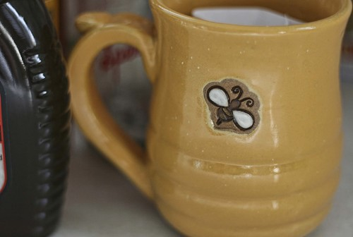 2014 Lithopolis Honeyfest: May Clay Pottery Mug