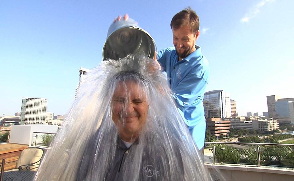 COO Jim Greer Ice Bucket Challenge