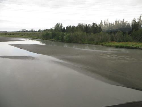 usa alaska train trainride matanuskariver alaskatrain goldstardome alaskarailroadtravel