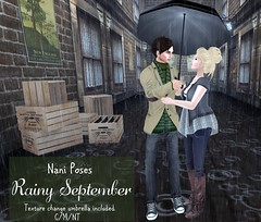 Rainy September - The Saturday Sale