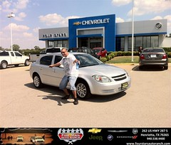 #HappyAnniversary to Cleodis Mckinney on your 2010 #Chevrolet #Cobalt from Zach Nichols at Four Stars Auto Ranch!