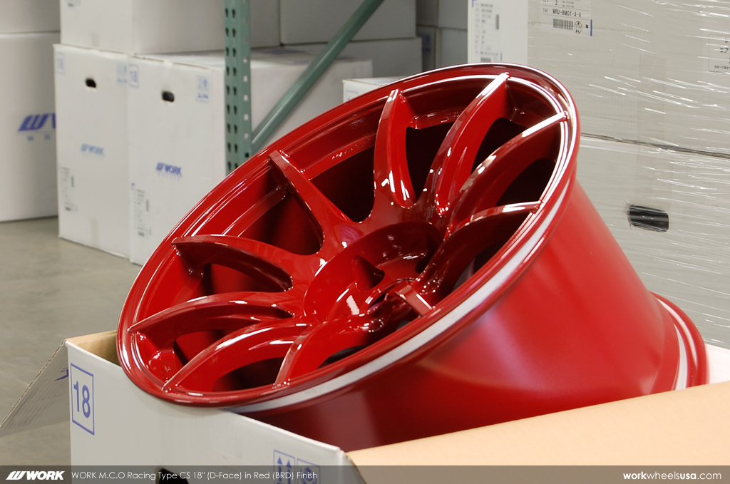 Work M C O Racing 18x9 5 10 0 10 5 11 0 Spec For Nissan